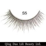La falsificazione falsa di prezzi di fabbrica dei cigli dei capelli sintetici di modo 3D di bellezza di Lili frusta il contrassegno privato delle strisce