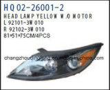 차 KIA Sportage 2011년을%s 맨 위 램프 LED 램프 적합. OEM#92101-3W010/92102-3W010/92101-3W120/92102-3W120
