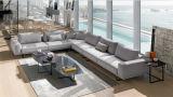 Sofà moderno con la mobilia moderna del sofà del tessuto per mobilia domestica