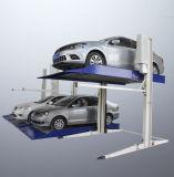 Двойной пост 2 уровня гидравлического Авто Стоянка с плавным регулированием скорости