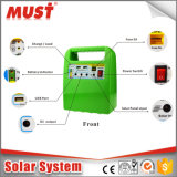 Миниая система 10W солнечная Enegry/портативная солнечная система для светов, вентиляторов