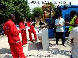Machine de gravure automatique hydraulique de brique de poids léger de Zcjk Qty4-20A