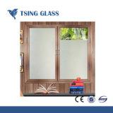 geëtstel Glas van het Glas van 312mm het Duidelijke/Gekleurde Berijpte Zuur voor Badkamers/Bureau