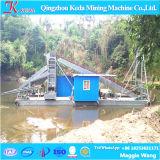 Cadeia Hoteleira Caçamba Draga de mineração de ouro, do ouro o equipamento de dragagem