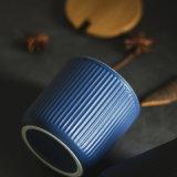 Insieme di ceramica stabilito del vaso della spezia del vaso di ceramica dell'articolo da cucina