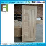 La décoration de la peau porte HDF/MDF/Porte de la porte de la peau de placage