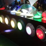 54W PI68 RGB LED montados à superfície exterior de luz com Controlador Remoto