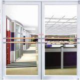 Европейский Дизайн двойной панелей открывающихся наружу алюминиевых Kfc дверь для вилл