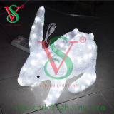LED 3D Rabbit Motif Light