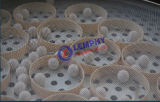 Cirkel Trillende Machine om Ceramische Glans Te onderzoeken