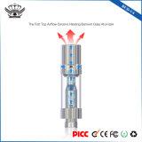 Knop-V4 de hoogste het Verwarmen van de Luchtstroom Ceramische Elektronische Rook van de Patroon van Vape van het Glas van de Kern 0.5ml
