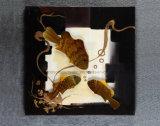 추상적인 열대 물고기 Handmade 알루미늄 Relievo 의 금속 벽 예술/훈장