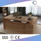 Equipo comercial mayorista de mobiliario de oficina Escritorio de madera con cajón (CAS-MD1835)