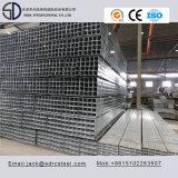 P345b galvanizado en caliente del tubo de acero cuadrado