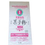 Sac de empaquetage de farine de blé de pain tissé par pp de vente d'usine divers