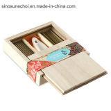 Подгонянная деревянная коробка для карандаша с крышкой