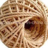 Heiße Verkaufs-Baumwollumsponnenes Material-Seil