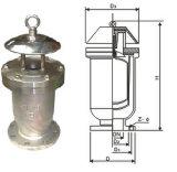 Válvula de Ar automático de orifício único; a válvula de descarga de ar rápida