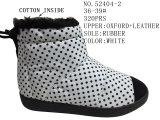 L'inverno del Shoes Oxford della signora calza i caricamenti del sistema del cotone