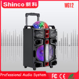 Best-Seller Blockbuster 2018 Shinco Carrinho Bluetooth Alto-falante com luz LED coloridos