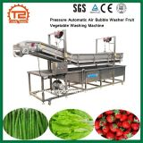 압력 자동적인 기포 세탁기 과일 야채 세탁기