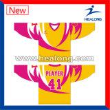 Healong 새로운 패턴 운동복 남자를 위한 주문 승화 하키 Jerseys