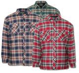 人のフランネルのパッディングのジャケットのLumberjack作業ワイシャツ