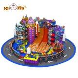 Speelplaats Van uitstekende kwaliteit van de Gymnastiek van de Apparatuur van kinderen de Binnen met de Stijl van het Ruimteschip