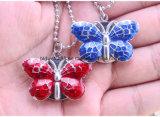 Montre Pocket pendante de collier de forme de guindineau pour Madame