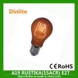 A19 32ACR ampoule vintage décoratif