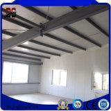 Edificio ligero de la prefabricación de la estructura de acero para el taller de acero