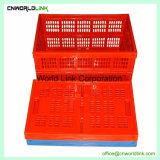 Plástico de alta calidad 35L Tiendas contenedor plegable