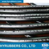 Flexibler Schlauch mit Stainles Stahldraht-umsponnenem hydraulischem Schlauch