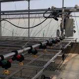 Sistema de irrigação por pulverização móvel em estufa