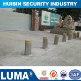 Os produtos de segurança de aço inoxidável automática dos cabeços para o estacionamento de carro parar