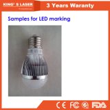 UV LED 회전하는 인쇄 기계 Laser 표하기 기계 가격