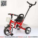 Classical Baby triciclo, as crianças não de triciclo para lactentes com Guiador de Pressão Traseira