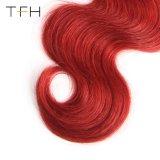 Pre-Coloedボディ波のOmberの毛#1b/Bugのバージンの毛の織り方は束ねる2つのカラー毛(TFH18)を