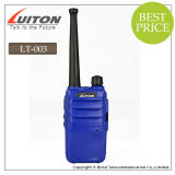 Blue 또는 Black/Orange 싼 Color Portable Ham Radio Transceiver Lt 003