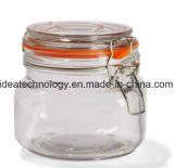 Guarnizione stretta della piccola di memoria del vaso del metallo del morsetto aria di vetro del coperchio