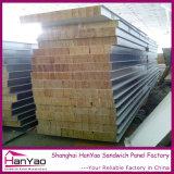 200mm PPGIの絶縁体の岩綿サンドイッチパネルの壁パネル