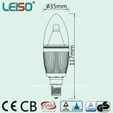 Dimmable ERP SAA 콜럼븀 승인되는 95ra 2200K 5W E14 LED 전구