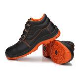 Выбитые ботинки техники безопасности на производстве искусственной кожи PU дешевые (HD. 0830)