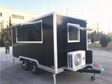 Tranda 판매를 위한 이동할 수 있는 음식 트럭 트레일러