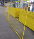Einfach Aufbau-temporären Zaun Kanada/temporäres Zaun-Panel installieren