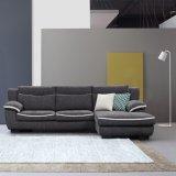 居間の家具のための小型の角ファブリックソファー