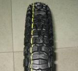 Motorrad zerteilt Motorrad-Reifen 4.10-18