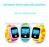 Touch-Screen colorido Digital/relógio esperto do perseguidor do GPS dos miúdos com Geo-Cerca Y8