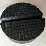 Kundenspezifische Gummiauflagen/Blöcke mit Schlitz für Universalauto-Laufkatze