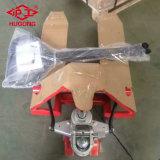 3 tonelada Durable precio barato Carretilla de ruedas de poliuretano transpaleta manual